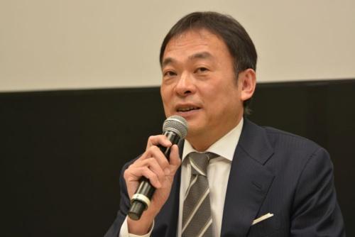 図4 本田技研工業日本本部長の寺谷公良氏