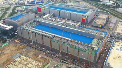 Samsung Electronics平沢工場(出所:Samsung Electronics)