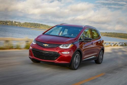 2019年モデルの「Chevrolet Bolt EV」(出所:General Motors)