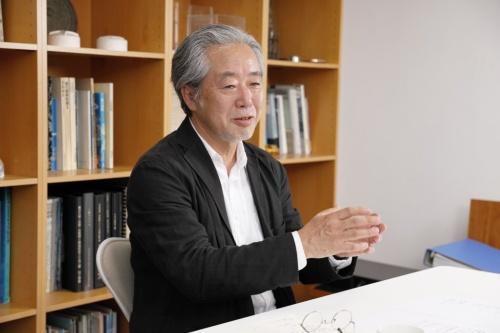 内藤廣建築設計事務所代表で、東京大学名誉教授の内藤廣氏(写真:山田 愼二)