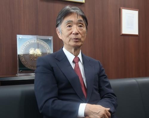 日本学術振興会の安西祐一郎前理事長
