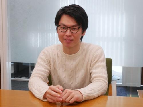 東京海上ホールディングスの前川純一事業戦略部デジタル戦略室アシスタントマネージャー