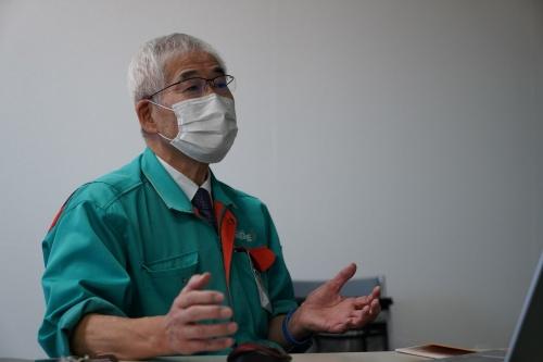図1:ナガセインテグレックス代表取締役社長の長瀬幸泰氏