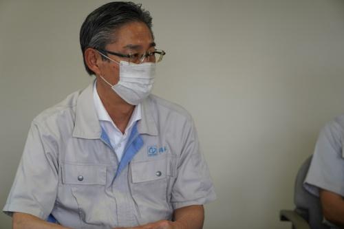 図1 ナベヤ代表取締役社長の岡本知彦氏