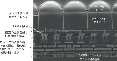 (a)受光素子の断面図