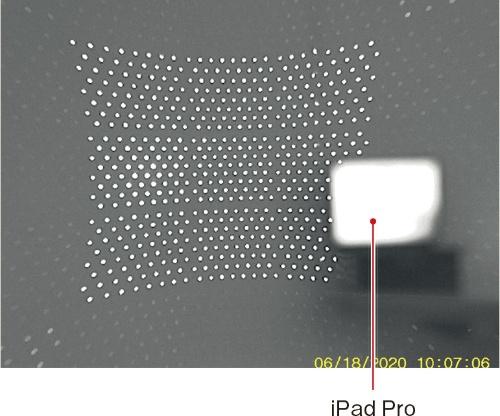 (b)照射パターン