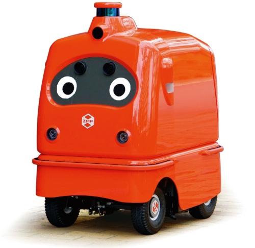 図1 日本郵便はドローンと配送ロボットを連携