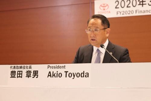 トヨタ自動車代表取締役社長の豊田章男氏(出所:トヨタ自動車)