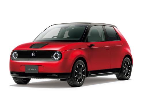 ホンダとしては初の量産EV「Honda e」(出所:ホンダ)