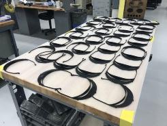 トヨタ自動車の北米統括会社であるトヨタ・モーター・ノース・アメリカ(TMNA)の管轄する米国の工場は、3Dプリンターを使ってフェースシールドの生産を始めた。米国の医療従事者に提供する。(出所:TMNA)
