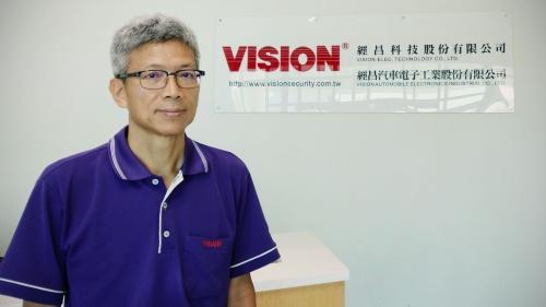 台湾VISION AUTOMOBILE ELECTRONICS INDUSTRIALのVice President, Marketing & RD DivisionのChung-Hsiao Lo(愛称:Paul)氏