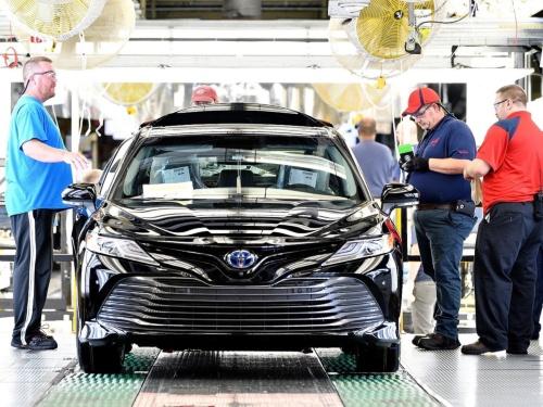 図 トヨタ自動車の米国工場