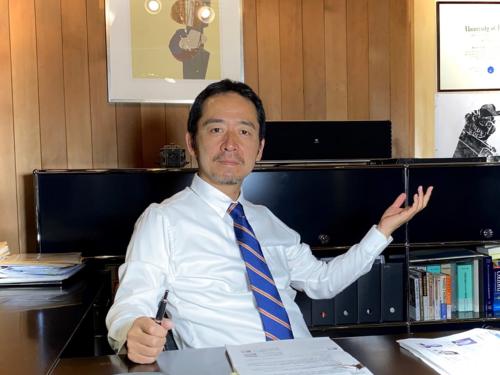図1 「知財宣言」考案者の山崎寿郎氏