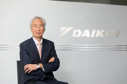 ダイキン工業社長兼CEOの十河政則氏