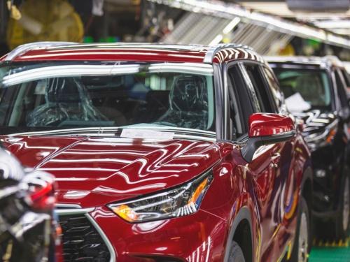 図 トヨタ自動車の米国生産拠点
