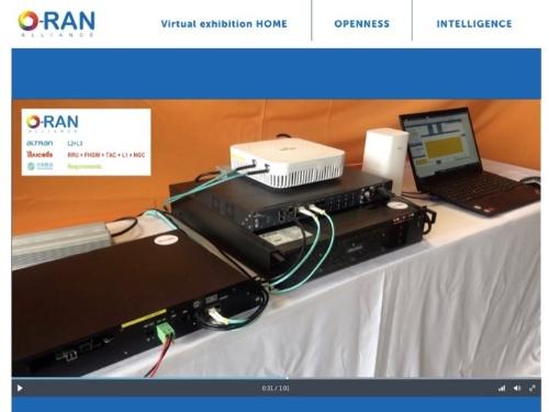 O-RAN AllianceはMWCで披露する予定だったデモをWeb上で紹介している(出所:O-RAN Alliance)