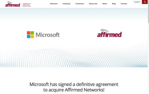 米マイクロソフトがキャリア網に急接近