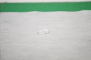 王子ホールディングスが生産する医療用ガウン向け不織布(出所:王子ホールディングス)