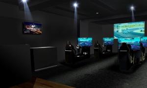 トヨタ自動車がモータースポーツの魅力を発信するために開設した「e-Motorsports Studio」(出所:トヨタ自動車)