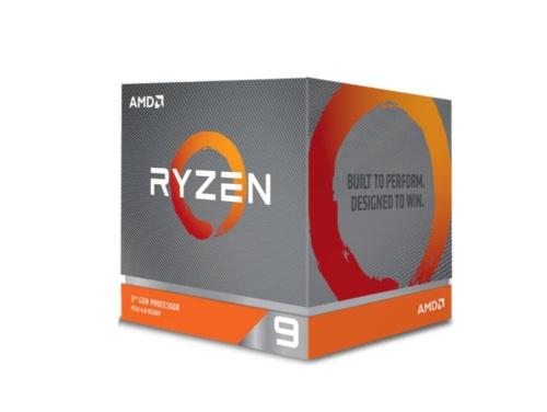 Ryzen 9シリーズのパッケージ。大型で冷却性能の高いCPUクーラーを同こんしている