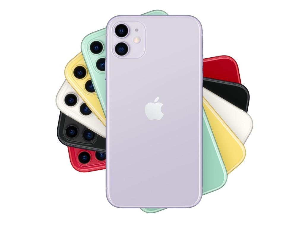 最近はスマートフォンもWi-Fi 6対応モデルが増えている。米アップル(Apple)の「iPhone 11」もその1つだ (出所:アップル)