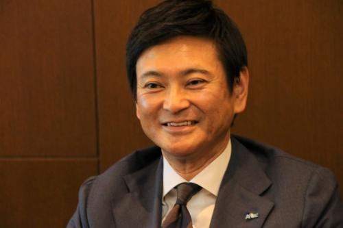 アフラック生命保険上席常務執行役員CIO 二見 通(ふたみ・とおる)氏