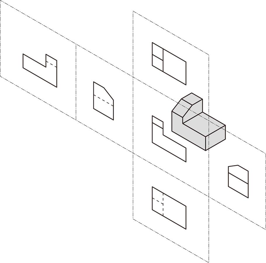 図7 6面全部が同一面になるように広げ切る (出所:西村仁)
