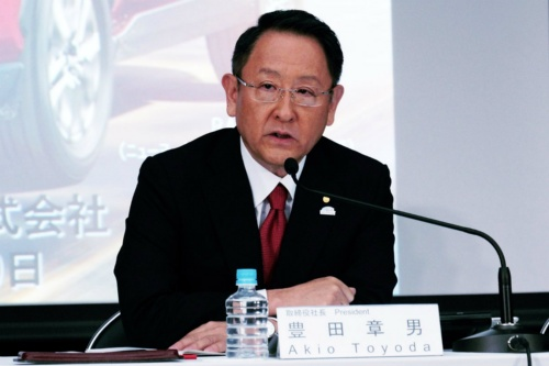 モビリティーカンパニーになると宣言したトヨタ社長の豊田章男氏