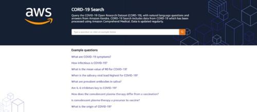 研究者が新型コロナに関する研究論文を自然言語で検索できるサービス「CORD-19 Search」