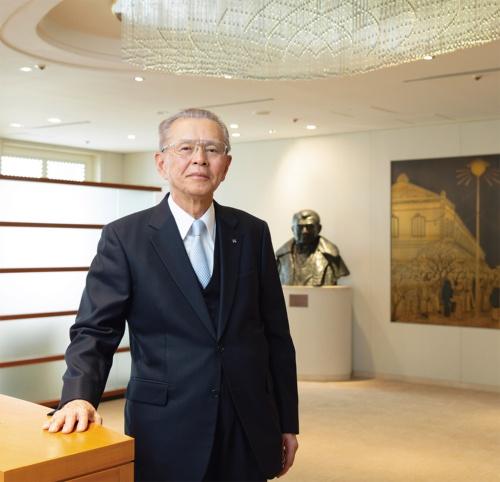 現場は、「システマティックに進めることが大切だ」と大成建設の山内隆司会長は語る(写真:的野 弘路)