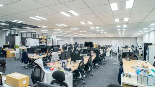 ClipLineの旧オフィス。東京・田町に構えていた(写真:ClipLine)