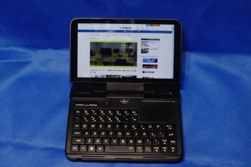 6インチディスプレーを搭載するノートパソコン「GPD MicroPC」