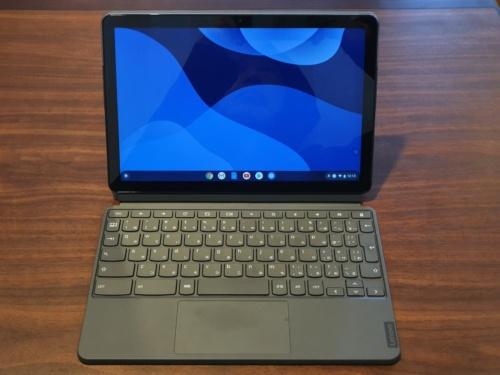 Chromebookの例。写真は中国レノボのLenovo Ideapad Duet Chromebook