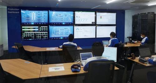 図2 統合指令室