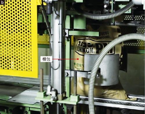 図1 フェノール樹脂成形材料の生産工程の例
