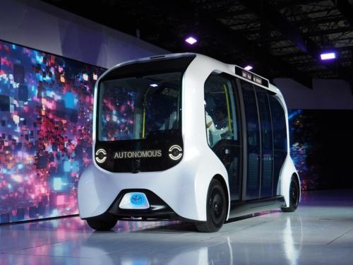 トヨタ自動車の自動運転の電気自動車「e-Palette」