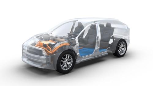 トヨタ自動車は近いうちに欧州で、専用のプラットフォーム(PF)「e-TNGA」を採用したSUV(多目的スポーツ車)タイプの電気自動車(EV)を発表する予定という(出所:トヨタ自動車)