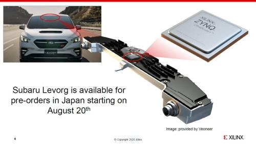 スバルは新世代アイサイトの半導体チップにFPGAを採用