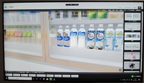 アサヒがVRで新商品デザインのDX、競合品も並ぶ3D陳列棚は驚きの再現力