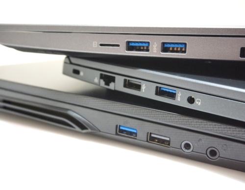 ノートPCが搭載するUSBポートに注目しよう