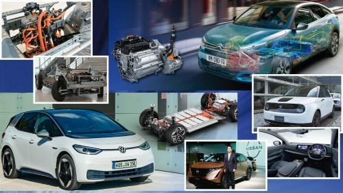 写真:Groupe PSA、Volkswagen、日産自動車