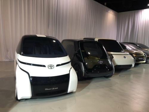 トヨタ自動車の超小型EVのコンセプトモデル