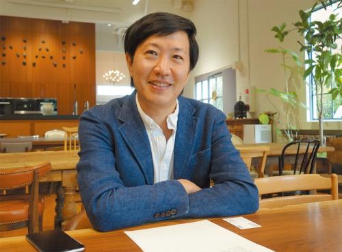 NAP建築設計事務所代表の中村拓志氏(写真:日経アーキテクチュア)