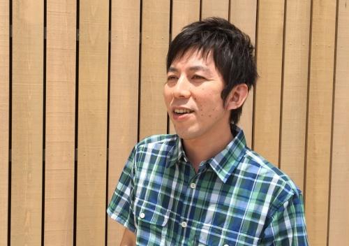 艸建築工房代表取締役所長の横畠康氏(写真:長井 美暁)