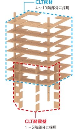 建物内木構造イメージ