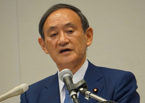 自民党新総裁となった菅義偉氏