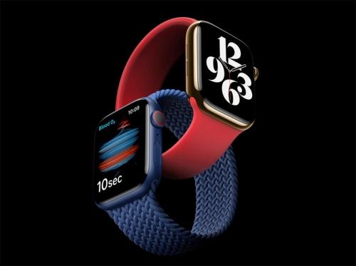 血中酸素飽和度を測定する機能を搭載して、健康管理デバイスとしての側面をさらに強化した「Apple Watch Series 6」
