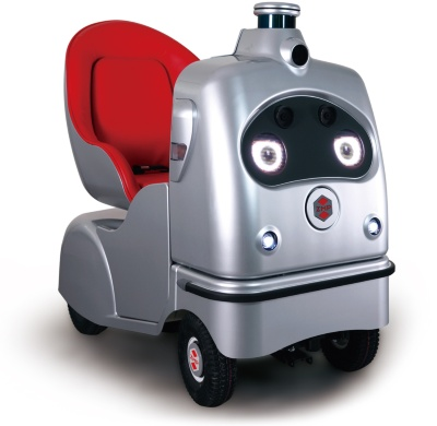 ZMPの1人乗り自動運転ロボット「RakuRo(ラクロ)」