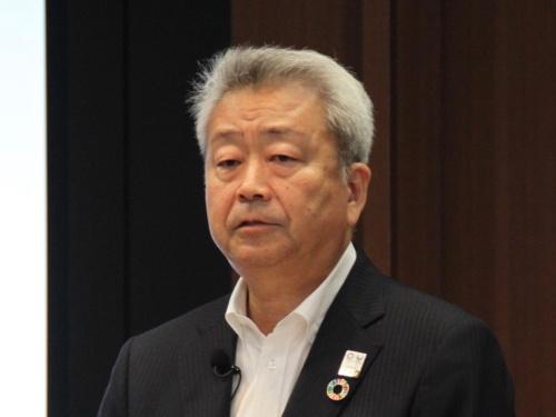 2018年6月にNTTグループのトップに就いたNTT持ち株会社社長の澤田純氏