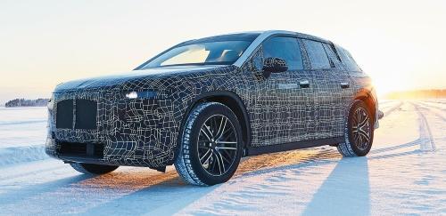図1 BMW初のレベル3自動運転車「iNEXT」の試作車